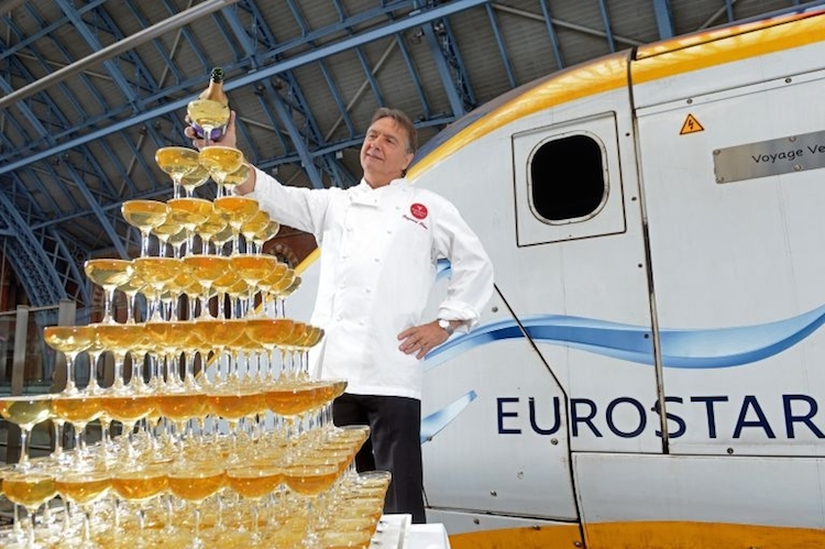Raymond Blanc Champagne Eurostar