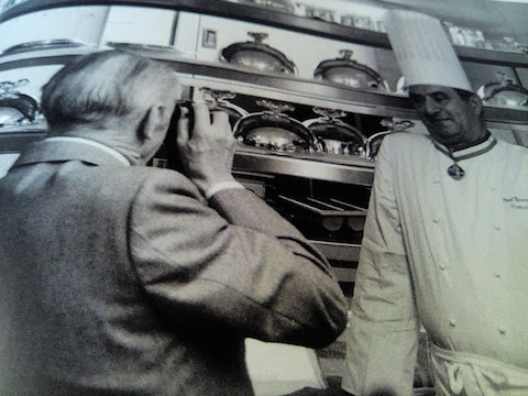 Paul Bocuse par Robert Doisneau