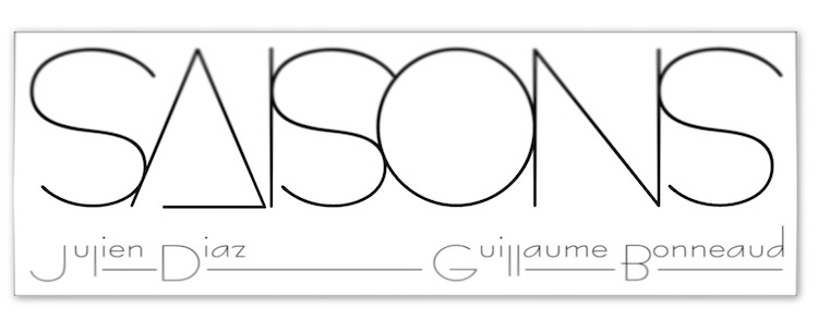 Le logo du restaurant Saisons du chef Julien Diaz